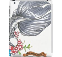 Black Goldfish iPad Case/Skin