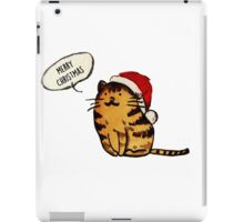 Noel Cat iPad Case/Skin