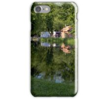 Summer reflections on the water - Cieszyn, Poland iPhone Case/Skin