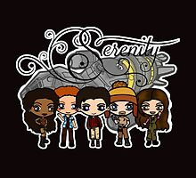 Firefly - Serenity and Crew by DEADCuteUK