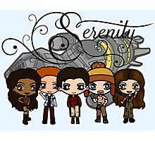 Firefly - Serenity and Crew Photographic Print