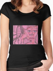 disillusionment Women's Fitted Scoop T-Shirt