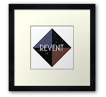 Revenit Space Logo Framed Print