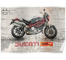 Ducati S4RS Poster