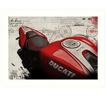 Ducati Monster 1200 R Art Print