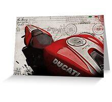 Ducati Monster 1200 R Greeting Card