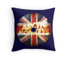 Arctic Monkeys Flag Throw Pillow