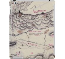 Civil War Maps 1923 Winter quarters 1864 vicinity of Lookout Mountain Tennessee iPad Case/Skin