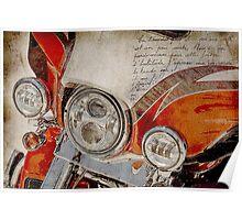 Harley Davidson 2014 CVO Limited FLHTKSE Poster