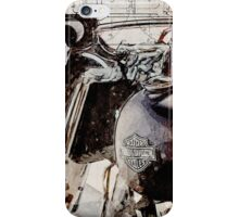Harley Davidson 2014 Softail Deluxe iPhone Case/Skin