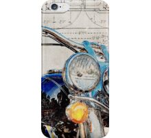 Harley Davidson FLSTN Softail Deluxe iPhone Case/Skin