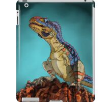 Majungasaurus, a theropod dinosaur from the Cretaceous Period. iPad Case/Skin