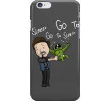 Go to Sleep! iPhone Case/Skin