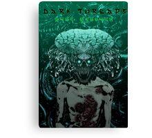 Demonic Alien Entity Canvas Print