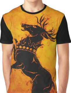 Heraldry Stag Graphic T-Shirt