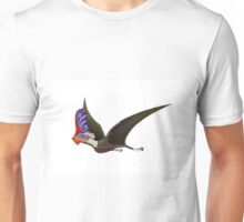 Tapejara, a genus of Brazilian pterosaur from the Cretaceous Period. Unisex T-Shirt