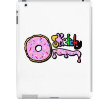 sketchy donut iPad Case/Skin