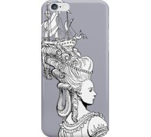 Girl With Ship iPhone Case/Skin