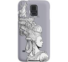 Girl With Ship Samsung Galaxy Case/Skin