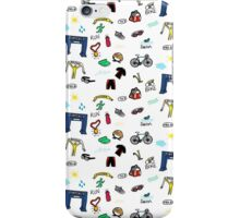 Triathlon Doodles iPhone Case/Skin