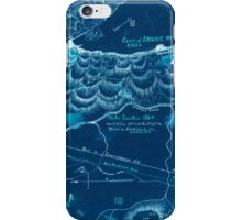 Civil War Maps 1923 Winter quarters 1864 vicinity of Lookout Mountain Tennessee Inverted iPhone Case/Skin
