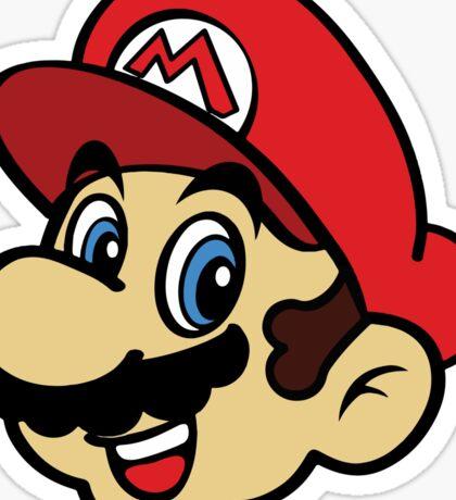 Happy Mario Sticker