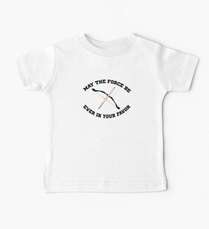 THE HUNGER GAMES MEETS STAR WARS Baby Tee