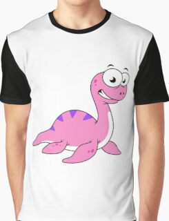 Cute illustration of the Loch Ness Monster. Graphic T-Shirt