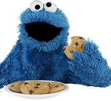 Cookie Monster by sbryton73