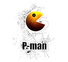 Pac-Man Photographic Print