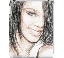 Rihanna - Colored Pencil Art iPad Case/Skin