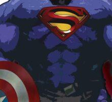 Superhero combo Sticker
