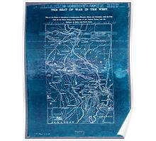 Civil War Maps 1906 War maps and diagrams 02 Inverted Poster