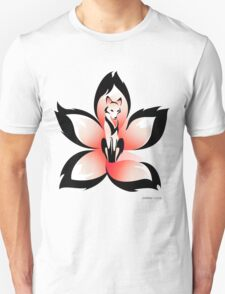 Hana (Flower) Kitsune Unisex T-Shirt