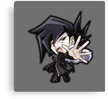 Chazz Princeton Icon - Yugioh! Canvas Print