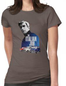 The Italian Job Classic Mini Cooper Womens Fitted T-Shirt