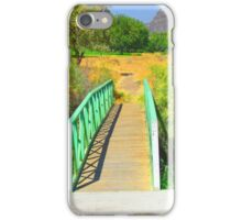 """Canyon Bridge"" Artwork by Carter L. Shepard iPhone Case/Skin"
