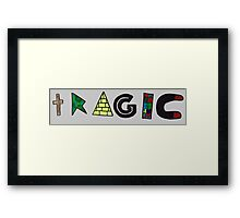Tragic Framed Print