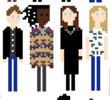 Lovely Little Pixels Vertical Sticker
