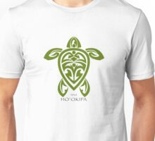 Green Tribal Turtle  / Ho'okipa Maui Unisex T-Shirt