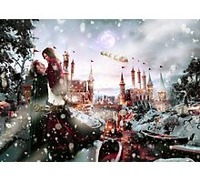 Outlaw Queen - Chrismas Day In Camelot Photographic Print