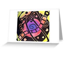 Fruit and Seed Vortex Greeting Card
