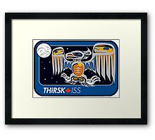 Personal ISS Mission Patch of Robert Thirsk Framed Print