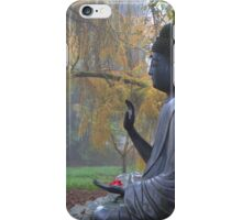 Garden Budda iPhone Case/Skin