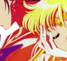 Sailor Mars and Sailor Venus Sticker
