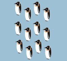 Penguin Pattern Baby Tee