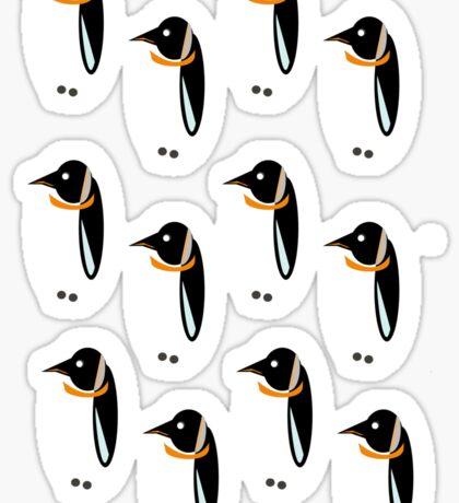 Penguin Pattern Sticker