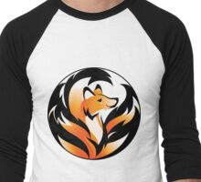 Kitsune Mon II Men's Baseball ¾ T-Shirt