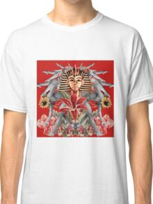 King Tut Floral Graphic Classic T-Shirt