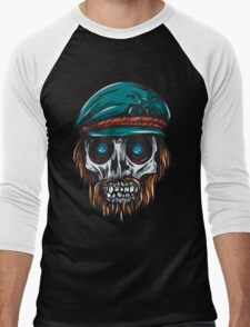 Skull #1 Men's Baseball ¾ T-Shirt